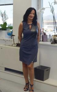 Η διευθύντρια επικοινωνίας & μάρκετινγκ του Διεθνούς Αερολιμένα Αθηνών, Ιωάννα Παπαδοπούλου.