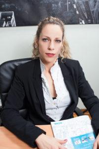 Η Consumer Manager της D-Link Hellas, Μαρία Καπελάκη.