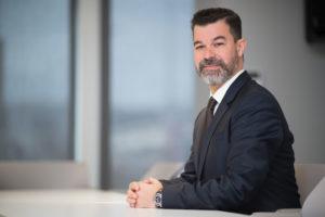 Ο επικεφαλής του τμήματος Consumer Electronics της Samsung Electronics Hellas, Γιώργος Τσαούσης.