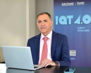 Δημήτρης Εφορακόπουλος, Πρόεδρος και Διευθύνων Σύμβουλος της Info Quest Technologies