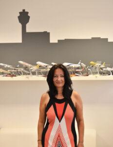 Ιωάννα Παπαδοπούλου, Διευθύντρια Επικοινωνίας και Μάρκετινγκ του Διεθνούς Αερολιμένα Αθηνών