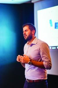 Στέλιος Χαραλαμπάκης, διευθυντής πωλήσεων της Sony Mobile σε Ελλάδα και Κύπρο