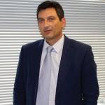 Ο Country Manager της Toshiba σε Ελλάδα και Κύπρο, Βασίλης Σύκαλος.